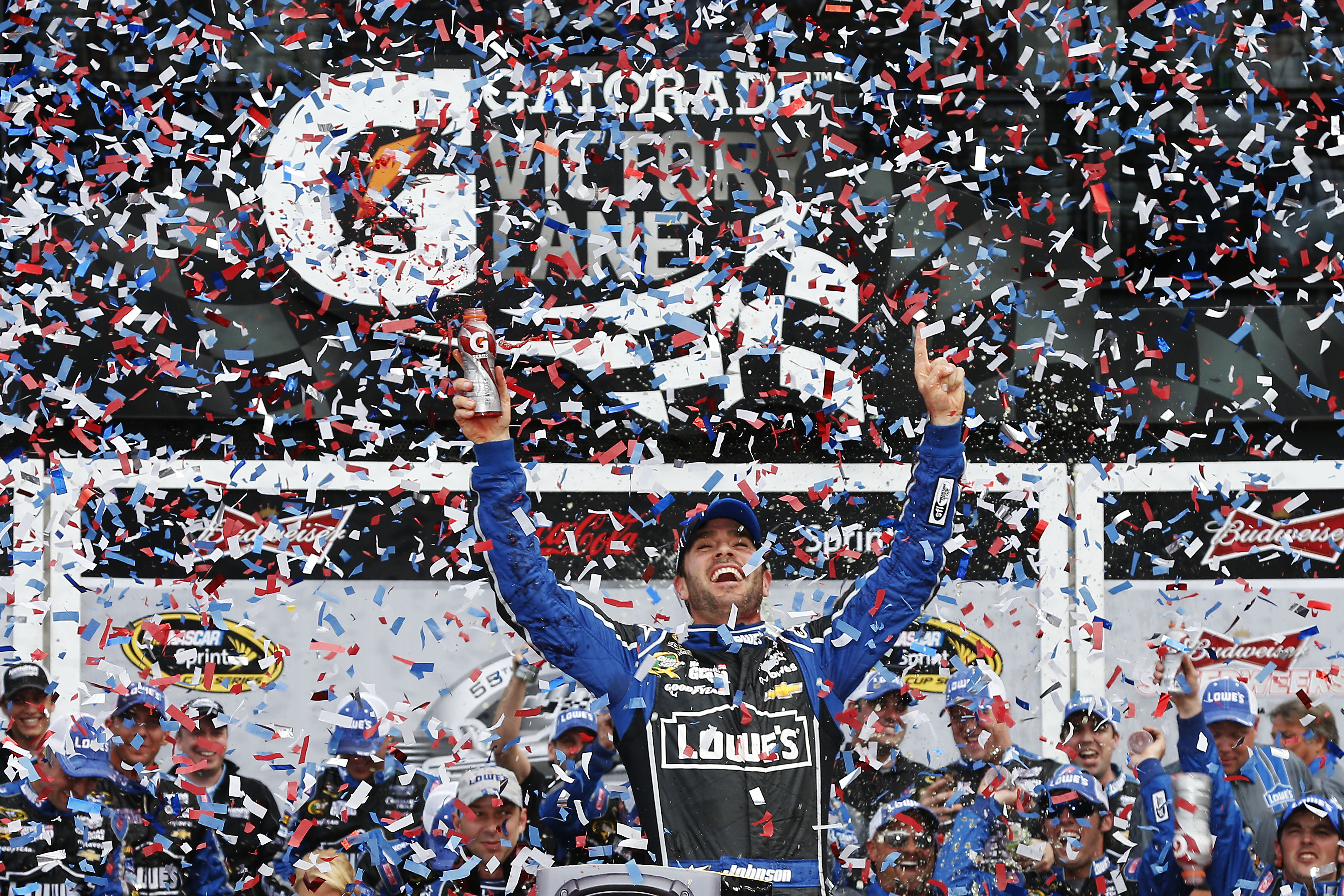 Jimmie Johnson wins the championship 2016?