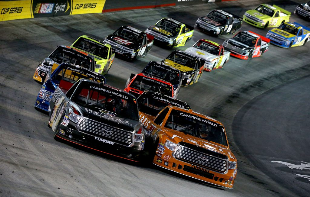 Tundra Racing Series >> 2017 NASCAR Camping World Truck Series Schedule | Pure ...