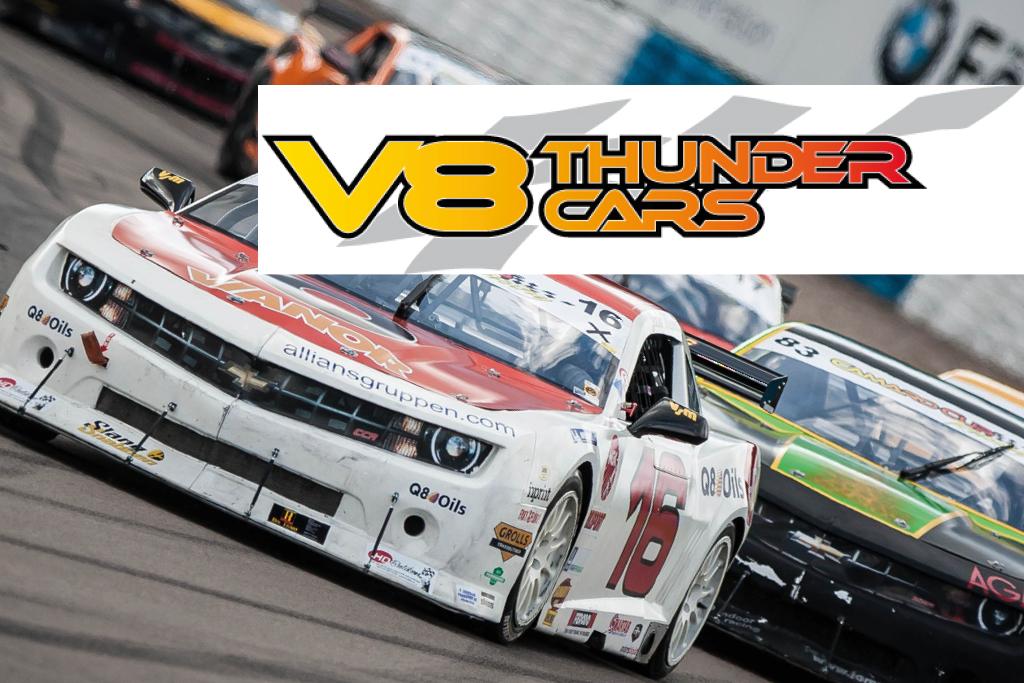 2017 V8 Thunder Cars Schedule