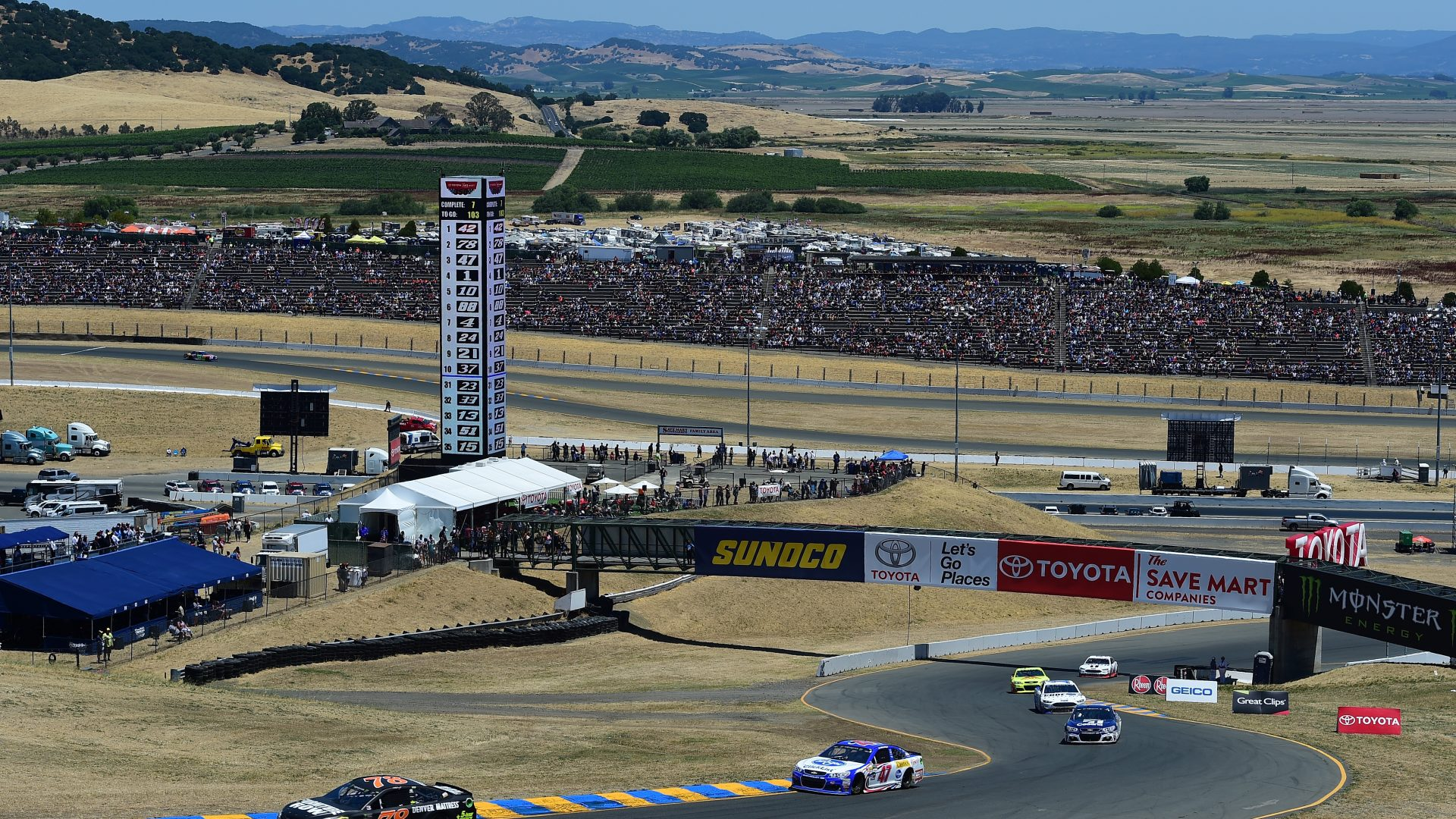weekend schedule for sonoma raceway and gateway motorsports park