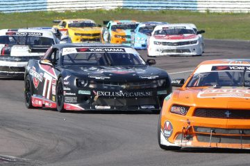 V8 Thunder Cars at Mantorp Park
