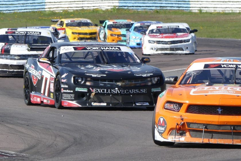 V8 Thunder Cars at Mantorp Park